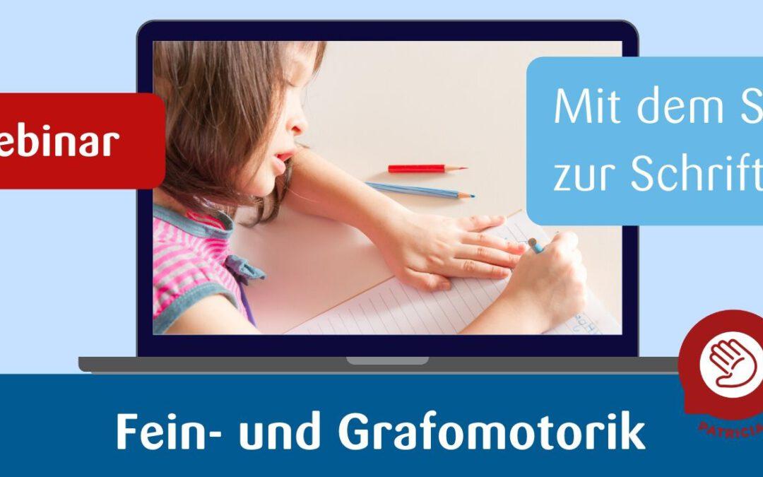 Feinmotorik und Grafomotorik – Online-Fortbildung