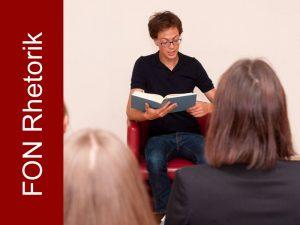 Seminar Sprechkunst - Sprechen auf der Bühne