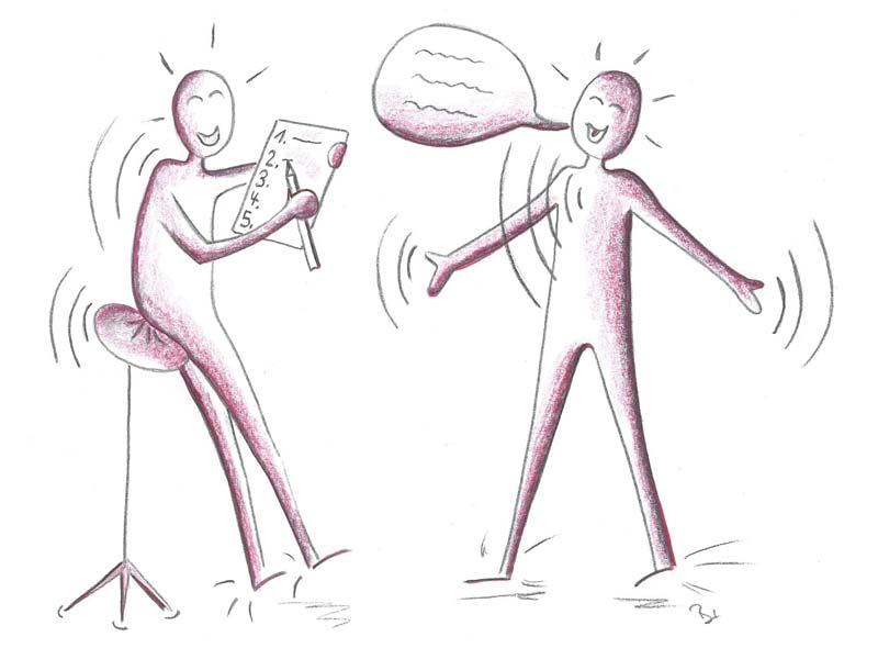 Kommunikationsananlyse , Einzelunterricht