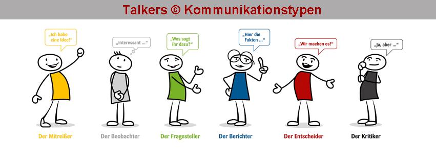 Talkers-Kommunikationstypen