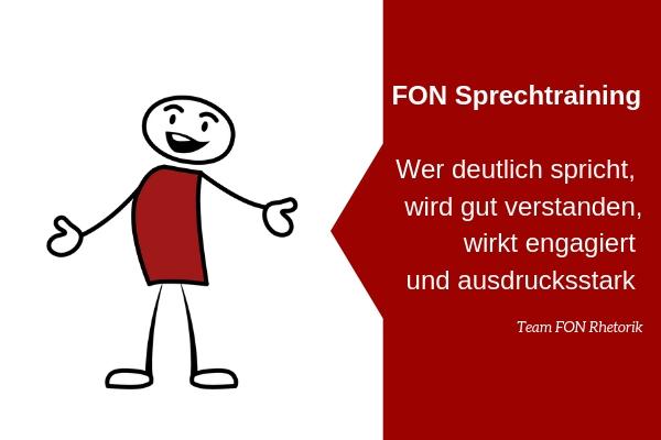 Seminar FON Sprechtraining
