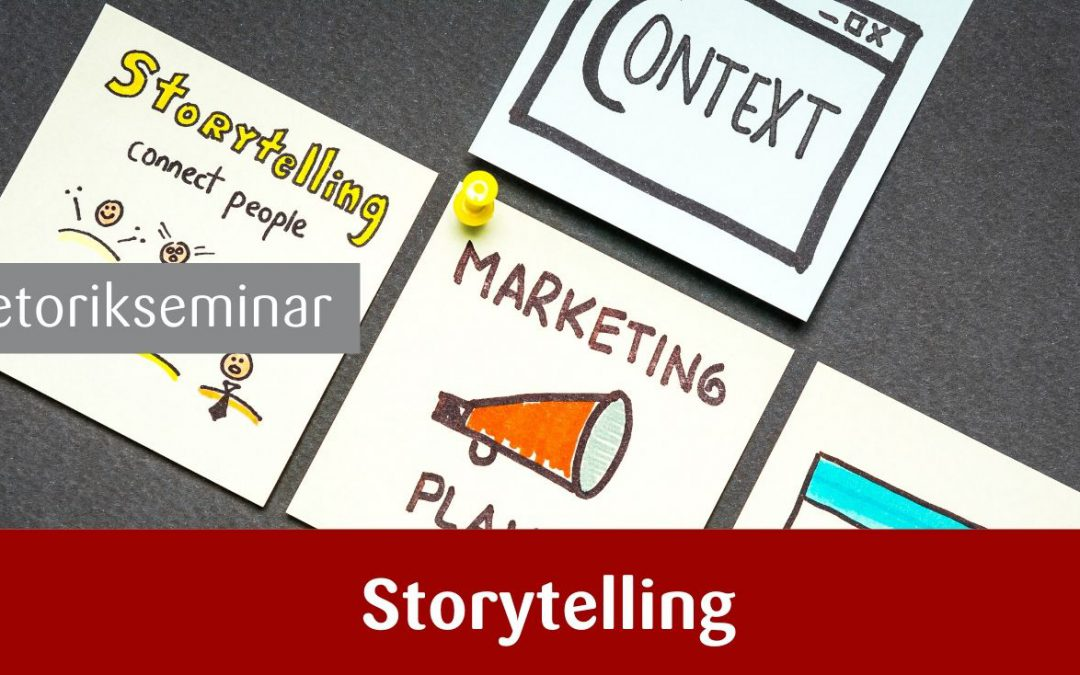 Rhetorik und Storytelling für Marketing und Vertrieb