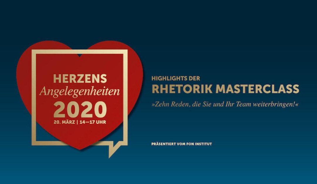 Herzensangelegenheiten 2020 – Rednerevent in Stuttgart