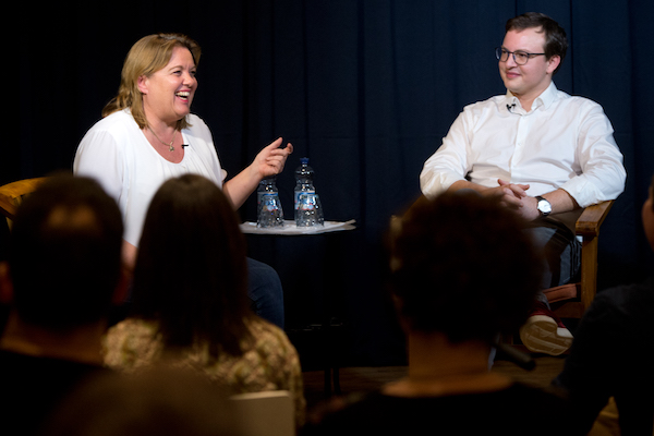 Brockmann trifft Ariane Willikonsky