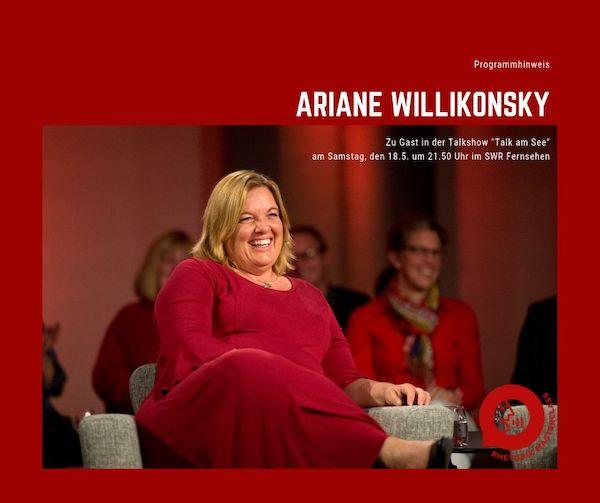 Ariane Willikonsky zu Gast bei Talk am See