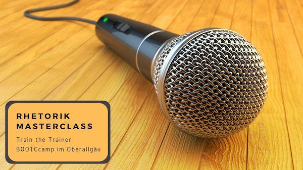 Rhetorik Masterclass – Bootcamp