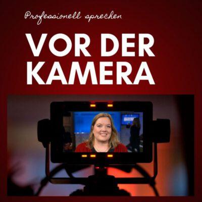 Onlinekurs professionell sprechen vor der Kamera