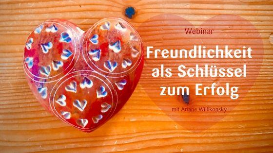 Webinar Freundlichkeit
