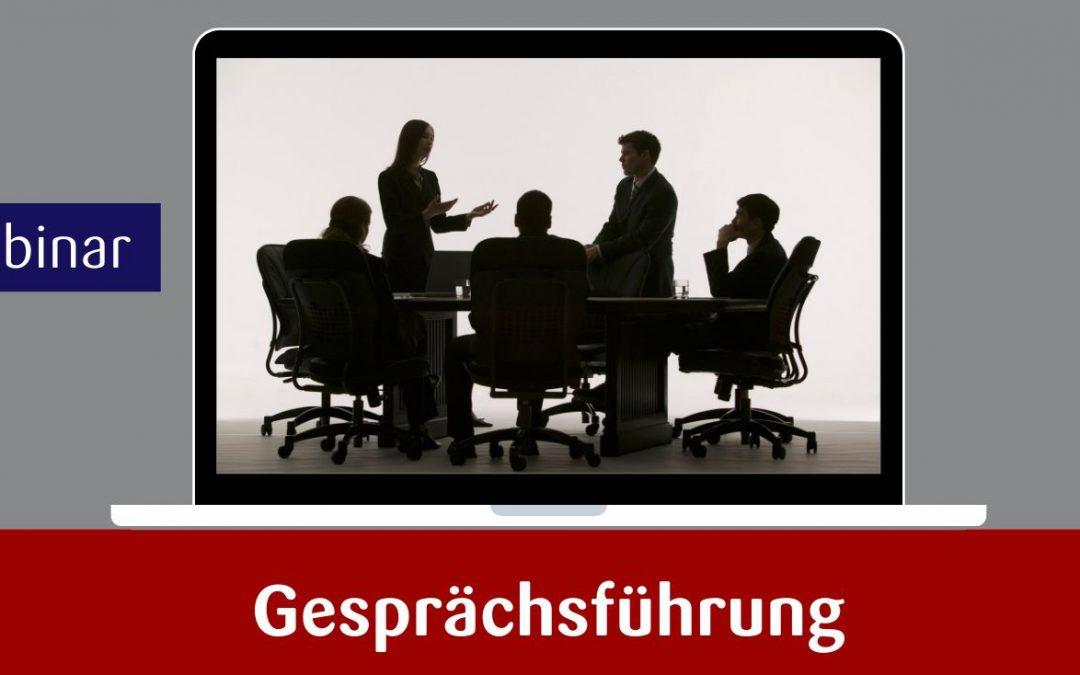Webinar – Gesprächsführung