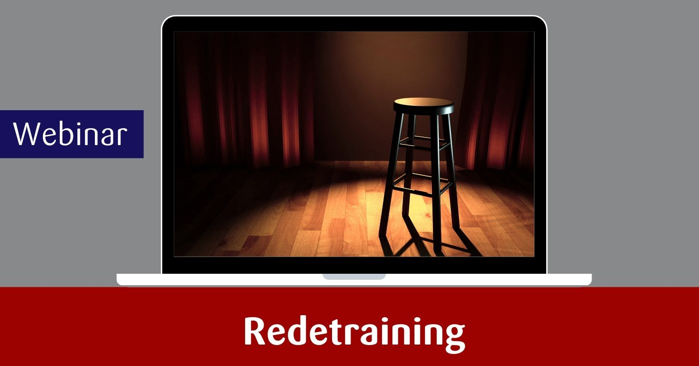 webinar Redetraining