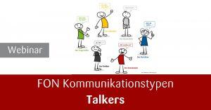 Webinar Rhetorik Kommunikationstypen Talkers