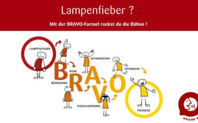 Lampenfieber im Griff mit der BRAVO-Formel