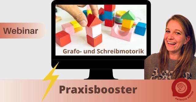 Praxisbooster Grafo- und Schreibmotorik – Online-Fortbildung