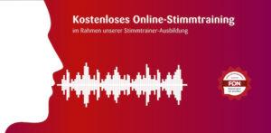 Online Stimmtraining