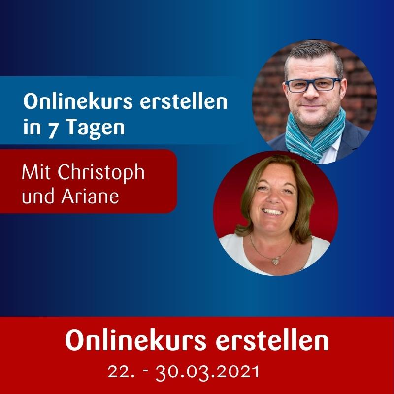 Onlinekurs erstellen