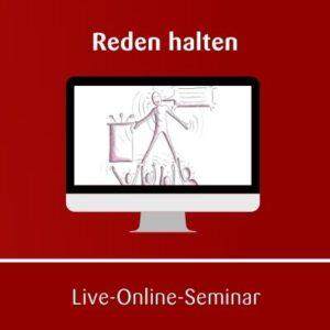 Reden halten Online Seminar