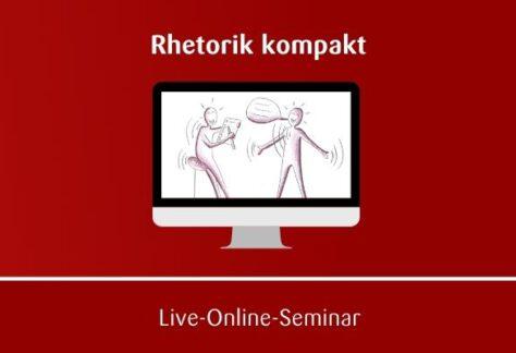 Rhetorik Online-Seminar