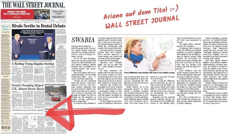 Presse Ariane Willikonksy MedienpräsenzWall Street Journal